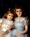 John Shirley Fox, Portrait of two sisters