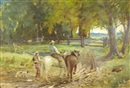William Malcolm Cutts, Farmers and horses