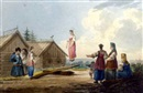 Karl Ivanovich Kollmann, Peasant girls playing on a see-saw (+ Journey to market; 2 works)
