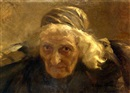 Nikolai Alexeievich Kasatkin, Portrait of an old woman