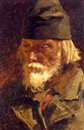Nikolai Alexeievich Kasatkin, Portrait of an old peasant