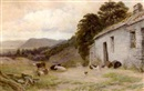 Albert William Ayling, Old cottage, Trefriw