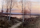 Aleksei Matveevich Prokofiev, Sunset over the lake