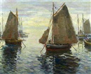 Arturo Pacheco Altamirano, Docked sailboats