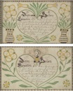 American School_Pennsylvania (19), Birth and Baptismal certificates for Johan and Joseph Guthmacher (pair, one 1819)