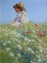 Dianne Flynn, Girl in a field of daisies
