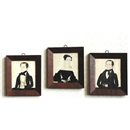 Jane Anthony Davis, Family portraits (set of 3)