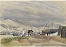 Jean Alexander, Old Felixstowe by the Ferry Steps (+ 9 others; 10 works)