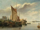 Willem L. Andrea, Dutch sailing vessels near the coast