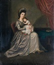 David Allan, Portrait of a mother and her child