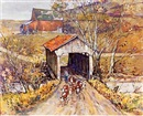 Leslie Cope, A Licking County covered bridge