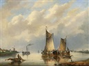 Gerardus Hendriks, Shipping in an estuary