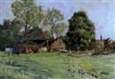 Edward Holroyd Pearce, Farm buildings, Watermill Farm, Wenhaston, Suffolk