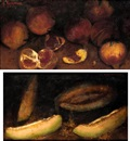 Alexandre Kaloudis, Still life (+ another similar; pair)