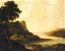Follower Of William Ashford, An extensive lake landscape, (Lake Killarney?)