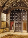 Thomas Greenhalgh, Interior of the Great Hall, Rufford Old Hall, Lancashire