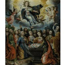 Attributed To Gregorio Gamarra, The Assumption of the Virgin