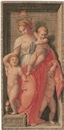 Dietrich Cruger, Caritas (+ 3 others; set of 4 after Andrea de Sarto)
