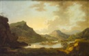 Jonathan Fisher, A view of the canal between the Lakes of Killarney, from near Coleman's Eye, the entrance of the Upper Lake