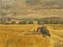 Clem Ambler, Harvesting in the Avon valley