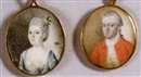 Attributed To Joseph Dunkerley, Captain John Page (+ Mrs. John Page; pair)