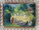 Henri-Jozef Pauwels, Playing tennis on a lovely spring day