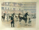 William Sullivant Vanderbilt Allen, Judging Hackney stallions - National Horse Show Association, New York, 1892