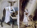 Peter Newell, Alice and fawn (+ The chef; 2 works)