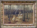 Edward R. Sitzman, The autumn hunt (+Snow scene, lrgr; 2 works)