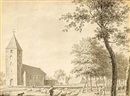Jordanus Hoorn, A view of the Church of Leusden (+ 3 others; 4 works)