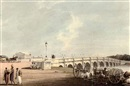 John Gantz, North east view of the new bridge near the Government Gardens, Madras
