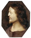 Circle Of Cornelis Cornelisz van Haarlem, Head of Christ in profile