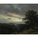 Karl Friedrich Lessing, Sunrise on Hartz Mountain