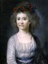 Attributed To Adélaïde Labille-Guiard, Portrait of an actress at the Comédie Français as Flora
