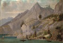 Antonio H. Cannoli, Trading vessels by a mountain settlement