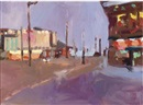 Paul Bassingthwaighte, Blackpool evening