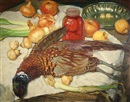 Albert Janesch, Still life with pheasant