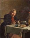 Rodolfo Agresti, A simple repast