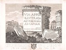 Carlo Labruzzi, Via Appia illustrata ab urbe Roma ad Capuam (set of 12)