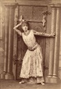 Paul Nadar, The actress Sarah Bernhard in her role as Theodora (+ another as the Duc de Reichstadt in L'Aiglon; 2 works)