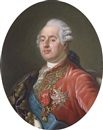 Joseph Boze, King Louis XVI of France wearing the Order of the Golden Fleece, the Order of Saint Esprit and the Order of Saint Louis, with an embroidered drape over his right shoulder