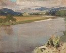 William Oliphant Hutchison, The Tay at Guay, Perthshire