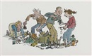 Quentin Blake, Sifting through bric-a-brac