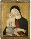 Benvenuto di Giovanni, The Madonna and Child