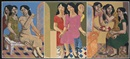 Marcel Antonio, Nine songs (triptych)