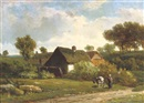 Alexander Joseph Daiwaille, The little farm