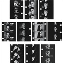 Gerard Malanga and Andy Warhol, 10 Screen tests (10 works)