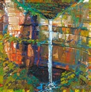Geoff La Gerche, Untitled (Waterfall)