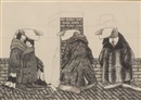 Edward Gorey, Three figures