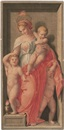 Dietrich Cruger, Caritas (+ 3 others; 4 works after Andrea de Sarto)